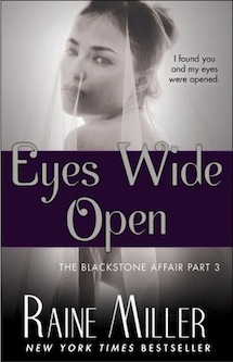 Eyes Wide Open by Raine Miller Review and Giveaway
