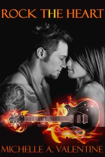 Rock The Heart by Michelle A. Valentine Review