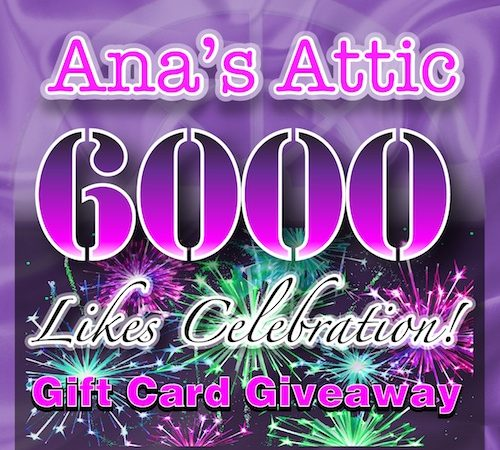 6,000 Likes Giveaway!!!