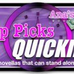Top Picks: Quickies (Novellas and Short Stories)