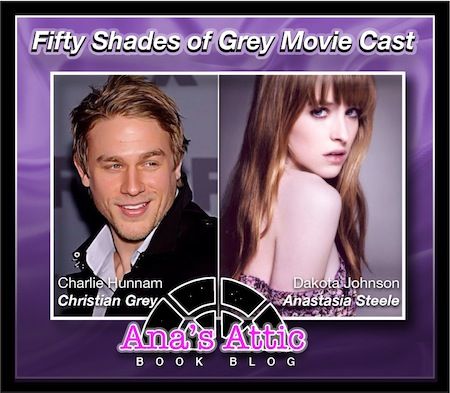 Fifty Shades of Grey Cast: Charlie Hunnam and Dakota Johnson