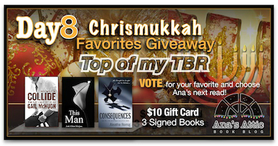 Ana's Chrismukkah Favorites Giveaway Day 8 – Series on my TBR