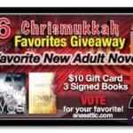 Ana's Chrismukkah Favorites Giveaway Day 6 – Favorite New Adult Novels