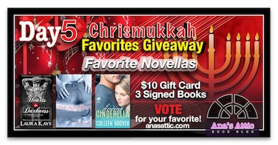 Ana's Chrismukkah Favorites Giveaway Day 5 – Favorite Novellas