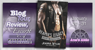 Blog Tour – Reaper's Legacy by Joanna Wylde with signed giveaway