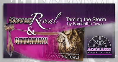 Cover Reveal – Taming The Storm by Samantha Towle