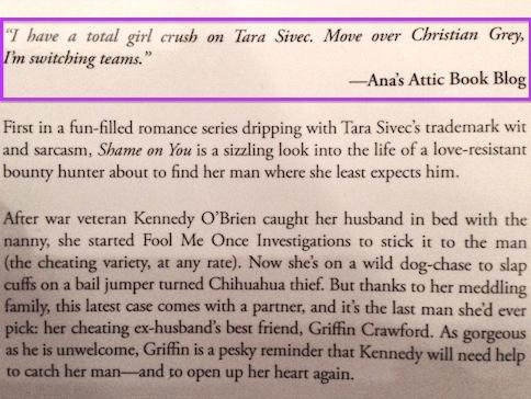 Shame on You Ana's Attic