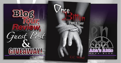 Once Bitten Twice Shy by C.C. Wood Blog Tour and Giveaway