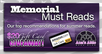 Memorial Must Reads – Our Top Picks with Gift Card Giveaway