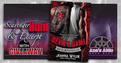 Devil's Game by Joanna Wylde Scavenger Hunt