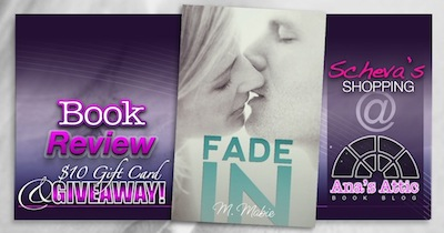 Scheva's Shopping: Fade In by M. Mabie Review and gift card giveaway