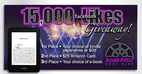 15,000 Facebook Likes Giveaway