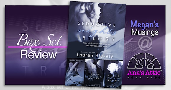 Megan's Musings – Seductive Nights by Lauren Blakely Box Set Review