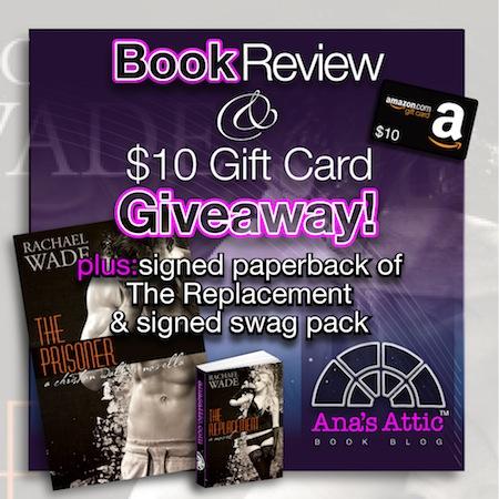 The Prisoner Rachael Wade giveaway