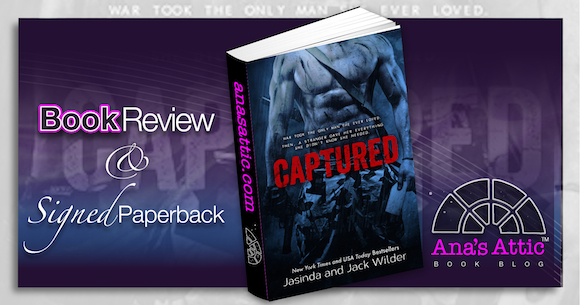 Book Review – Captured by Jasinda Wilder and Jack Wilder with Signed Giveaway