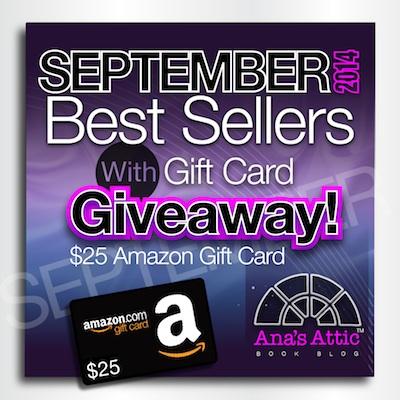 Kindle September Bestsellers