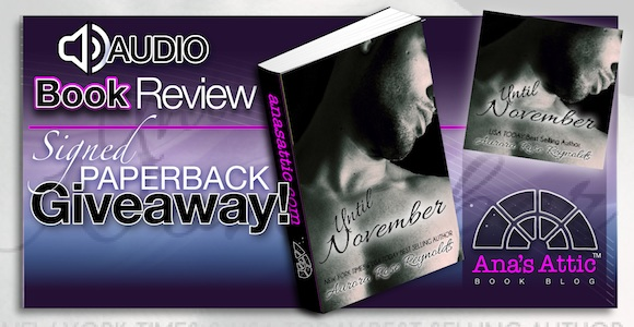 Audiobook Review – Until November by Aurora Rose Reynolds with signed paperback