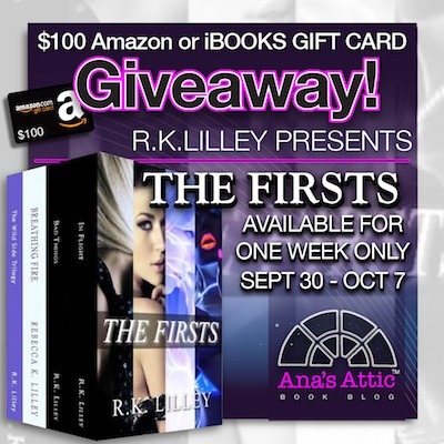 The Firsts by RK Lilley