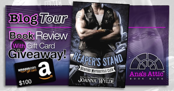 Blog Tour – Reaper's Stand by Joanna Wylde with $100 Giveaway