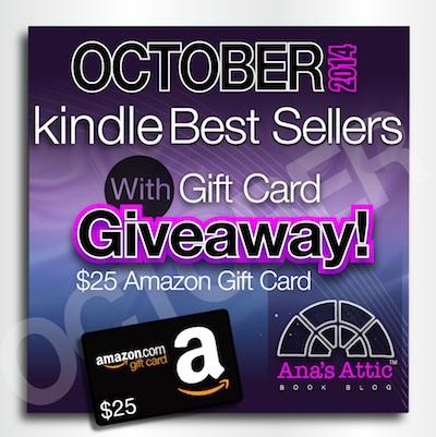 October Kindle Bestsellers