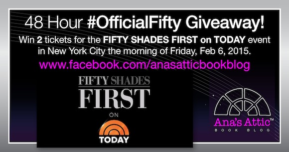 #OfficialFifty First On Today Giveaway