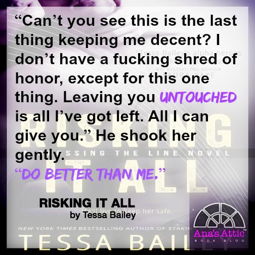 Risking It All Tessa Bailey