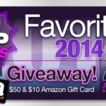 Favorite Books of 2014 with Gift Cards Giveaway!