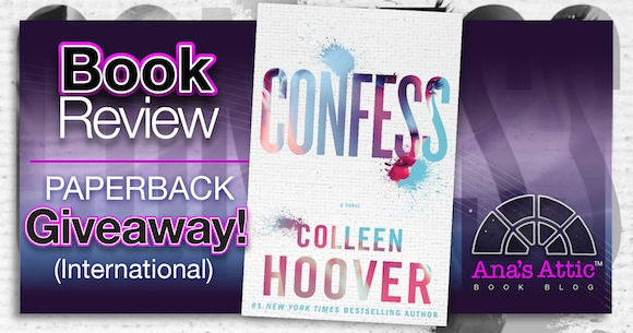 Book Review – Confess by Colleen Hoover with Signed Paperback
