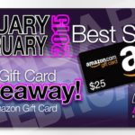 Bestsellers for January & February 2015 with $25 Giveaway