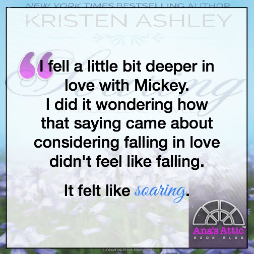 Soaring Quote by Kristen Ashley