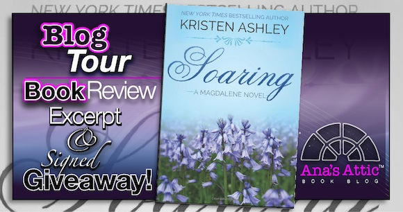 Book Review – Soaring by Kristen Ashley with excerpt and Signed Paperback