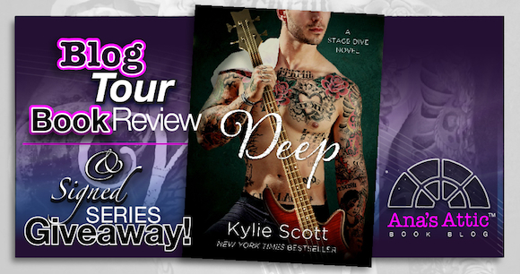 Book Review – Deep by Kylie Scott with Signed Series Giveaway
