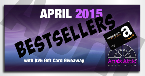 April 2015 Kindle Bestsellers with $25 Giveaway