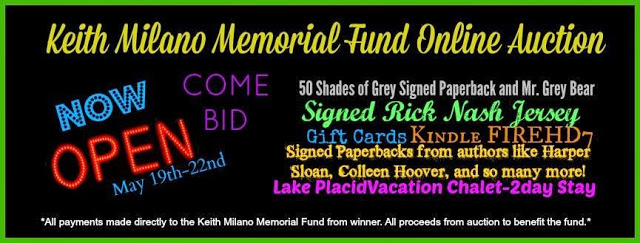 Keith Milano Memorial Fund Online Auction – LAST DAY!