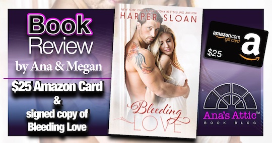 Book Review – Bleeding Love by Harper Sloan
