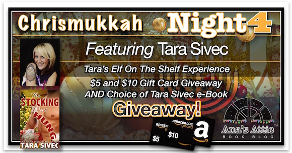 Chrismukkah 2015 Night 4 – Tara Sivec