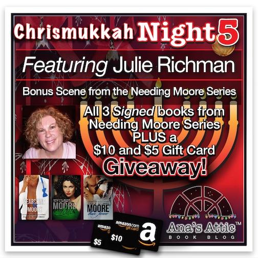 Chrismukkah 2015 Night 5  Julie A  Richman  U2022 Ana U0026 39 S Attic