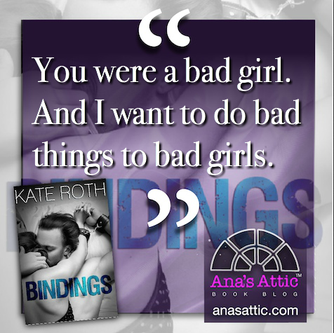 Bindings by Kate Roth quote
