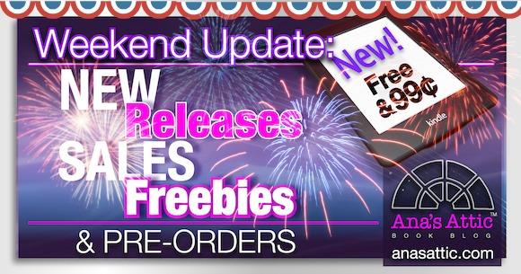 4th of July Weekend Kindle Sales, Freebies and Pre-orders