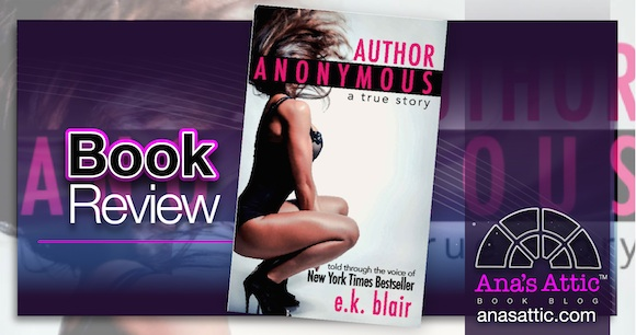 Book Review – Author Anonymous by E.K. Blair