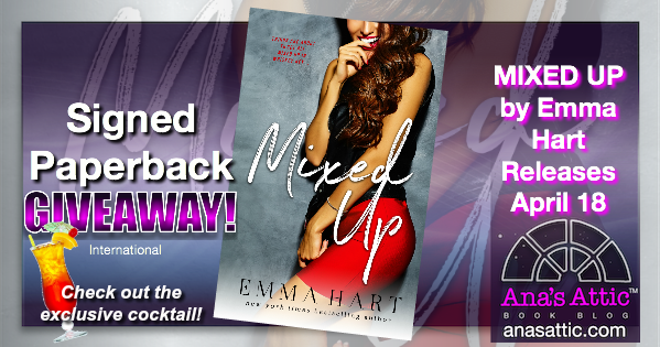Mixed Up by Emma Hart – Exclusive Drink, Preview and Giveaway