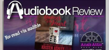 Audiobook Reread Review – Games of the Heart by Kristen Ashley