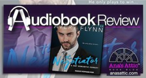 Audiobook Review – The Negotiator by Avery Flynn