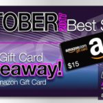 October 2017 Recap and Bestsellers with $15 Giveaway