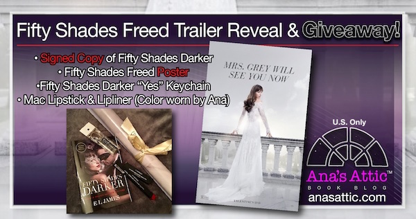 Fifty Shades Freed Trailer with Signed Giveaway!