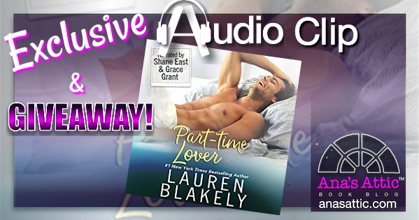 Exclusive Audio Preview – Part Time Lover by Lauren Blakely