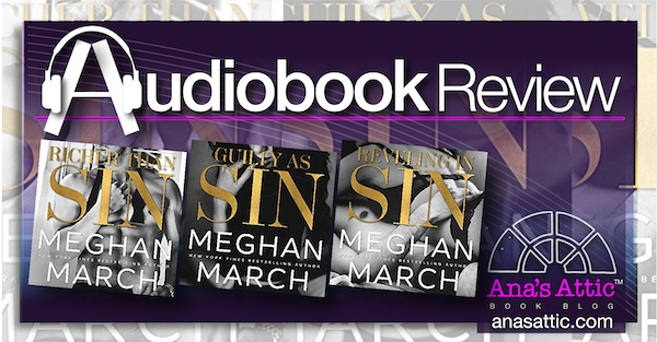 The Sin Trilogy by Meghan March – Audiobook Review