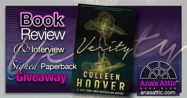 Verity by Colleen Hoover Review and Interview