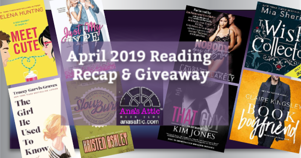April 2019 Recap and Giveaway