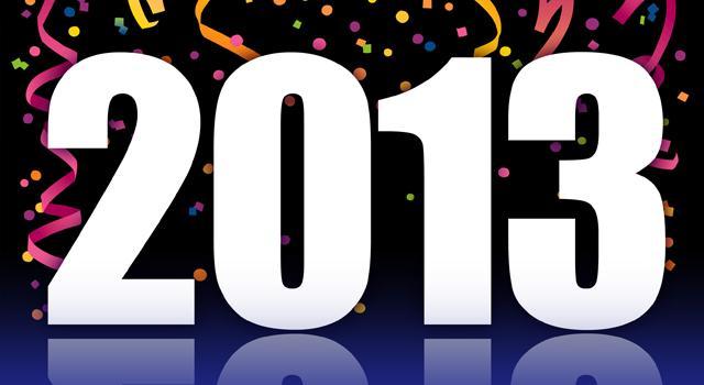 Happy New Year 2013!